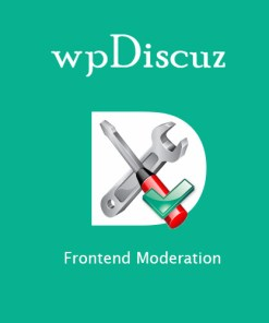 wpDiscuz Frontend Moderation
