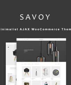Savoy Minimalist AJAX WooCommerce Theme