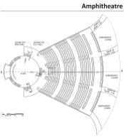 Amphitheatre---Plan