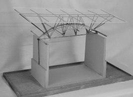 10_Roof-structure-model_copper-plexiglass-board