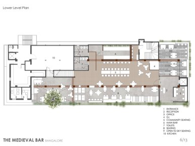 06 Lower floor Plan _Medieval Bar
