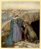 Merlino e Viviana - ArthurRackham 1917
