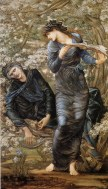 Merlino e Viviana - Edward Burne-Jones 1872–1877