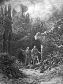 merlino e re artu - gustave dore 1868