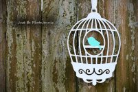 Birdcage decoration, by LittlePixieStix on etsy.com