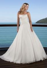 Ella dress, available at AlmaJ Bridal