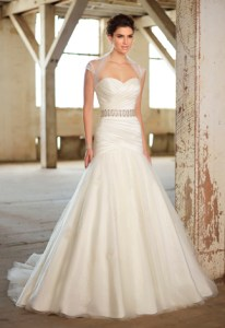 Essence dress, available at AlmaJ Bridal