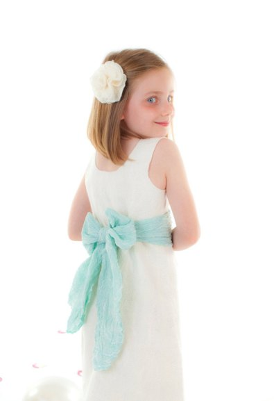 Flower girl dress, by softadditions on etsy.com
