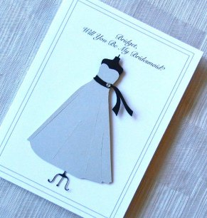Bridesmaid cards, by KeyLimeCards on etsy.com