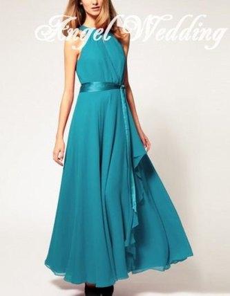 Bridesmaid dress, US$118, by AngelWeddingDress on etsy.com