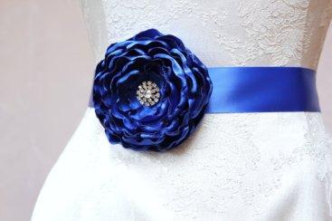 Bridal sash, by SunnyApril on etsy.com