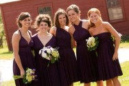 Bridesmaid infinity dress, by thejerseymaid on etsy.com