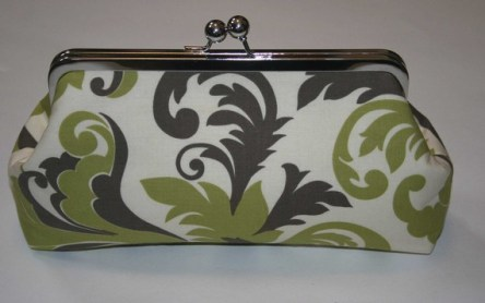 Clutch purse, by ModDotTextiles on etsy.com