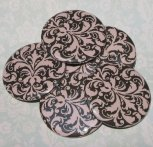 Pocket mirrors - great wedding favour idea - by flirtbuttons on etsy.com