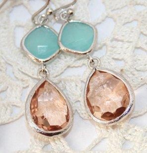 Earrings, by AngelPearls on etsy.com