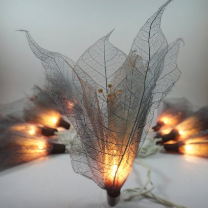 Leaf lights, by marwincraft on etsy.com