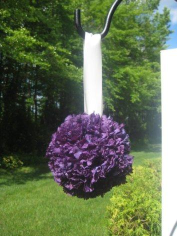 Pomander (kissing ball), by MyKreations4U on etsy.com