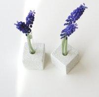 Test tube vases, by LynettesArt on etsy.com