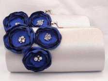 Bridesmaid clutches, by FallenSparrow on etsy.com