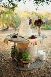 Lovely cake table