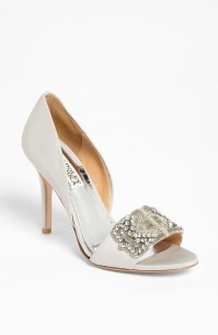Badgley Mischka 'Alessandra' Pump in light grey, from nordstrom.com