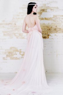 Blush gown, by clairelafaye on etsy.com