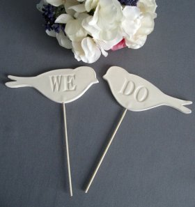 Cake toppers, by Susabellas on etsy.com