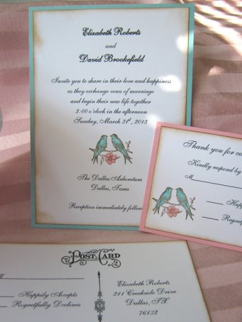 Invitation, by CharonelDesigns on etsy.com