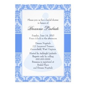 Bridal shower invitation, from zazzle.com