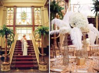 The Great Gatsby wedding inspiration, via bellethemagazine.com