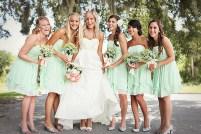 Bridesmaids in mint {via bridesmaid.com}