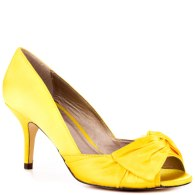 Canary Satin Luichiny heels, from heels.com