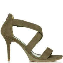Filomena Olive heels, from heels.com