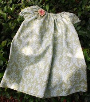 Flower girl dress, by roxanesheirlooms on etsy.com