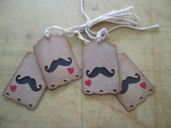 Gift tags, by WhimseyDimples on etsy.com