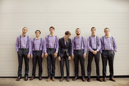 Groom and groomsmen style idea