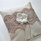 Ring pillow, by DibeauBridal on etsy.com