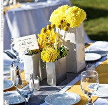 Table setting idea {via theknot.com}