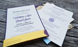 Wedding invitation, by S2StationeryDesign on etsy.com