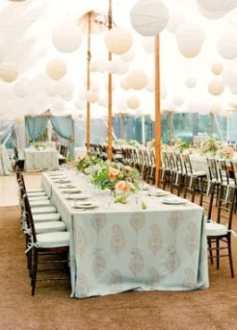 Wedding reception inspiration {via snippetandink.com}