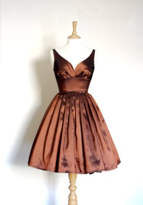 Bridesmaid dress, by digforvictory on etsy.com