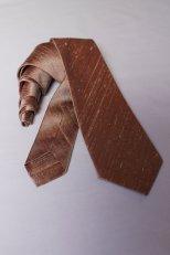 Men's copper tie, by EmpressBride on etsy.com