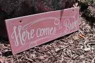 Wooden sign, by ArtsyQuotes on etsy.com
