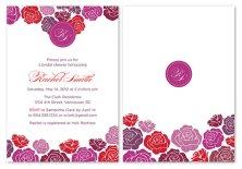 Bridal shower invitation, by PAPERHEARTSbyJ on etsy.com