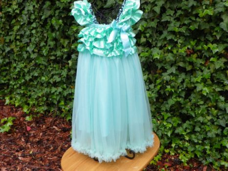 Flower girl dress, by AllAboutCouture on etsy.com