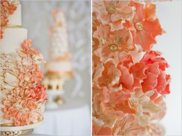 Wedding cake inspiration {via weddingchicks.com}