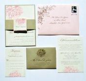 Wedding invitation, by WhimsyBDesigns on etsy.com
