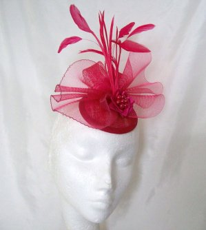 Fascinator, by IndigoDaisyWeddings on etsy.com