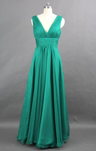 Jade bridesmaid dress, by harsuccthing on etsy.com