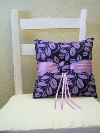 Ring pillow, by enamorweddings on etsy.com